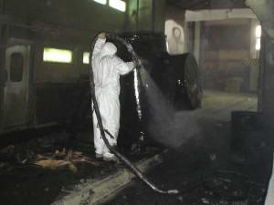 Нанесение антикорозийного покрытия Уризол фото2